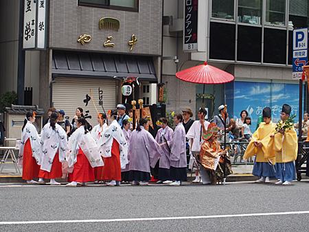 五條天神社 神幸祭