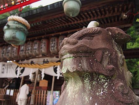 太平山神社の狛犬