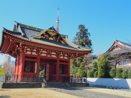 台徳院霊廟総門