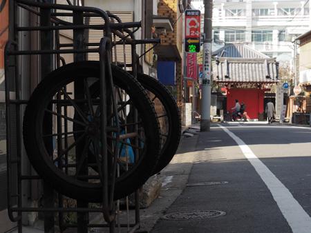 赤門寺参道