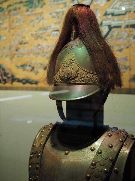 騎兵用甲冑