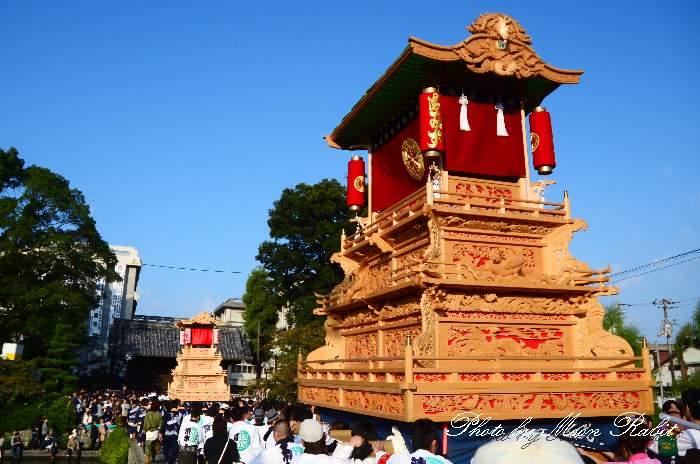 2011伊曽乃神社御殿前 : 異景