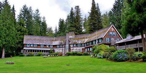 Hồ Quinault Lodge, rừng quốc gia Olympic, Washington