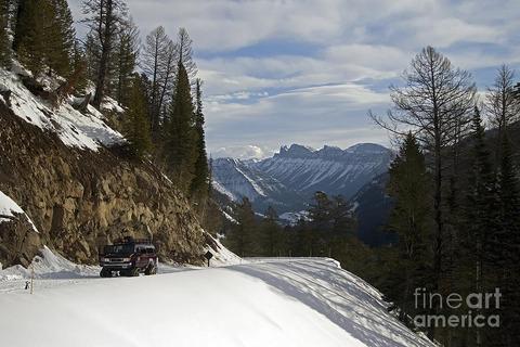 snow-coach-sylvan-pass-j-l-woody-wooden