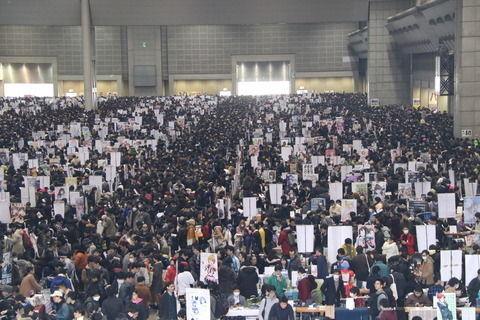 【コミケ95】平成最後のコミケ終了。冬コミ最高の57万人が来場