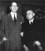 マッカーサーと吉田茂