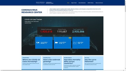 Johns Hopkins Univ Corona Dashboard