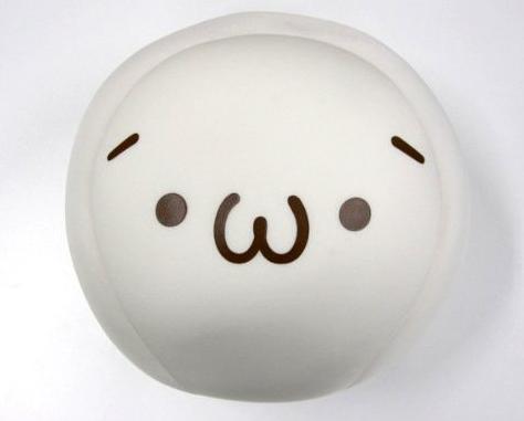コトブキヤSHOP限定 ビーズクッション ショボーン (´・ω・`) [通称:ショボーンクッション] 茶文字Ver.