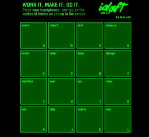 ダフトパンク気分になれる「The Daft Punk's console」