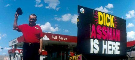Dick Assmanのガソリンスタンドだよ!