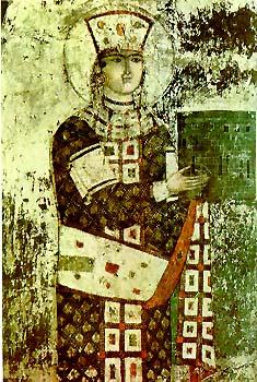 Queen_Tamar_-_Vardzia_fresco