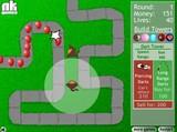 風船をやっつける防衛ゲーム 「Bloons Tower Defense」