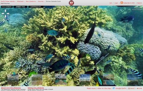 いろんな360°パノラマ画像を楽しむサイト「360 cities」