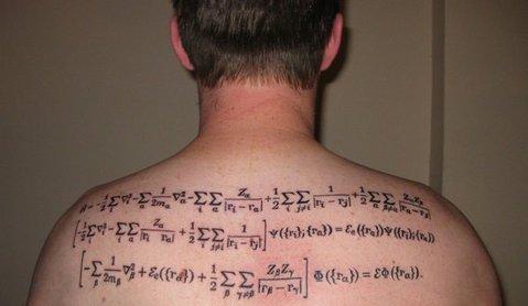 方程式タトゥー