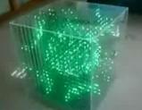 3DでオシャレなLEDキューブ