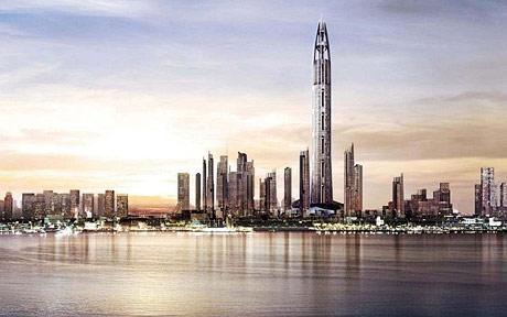 ドバイで早くも世界一高いビル建設計画浮上