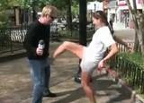 何人の女性に金的蹴りされることができるか世界記録に挑戦