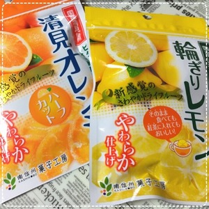 ドライフルーツ 輪切りレモン 清美オレンジ