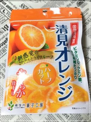 南信州菓子工房 清美オレンジ