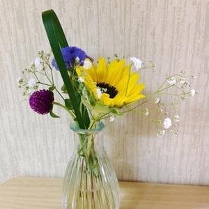 ブルーミーライフ 花瓶