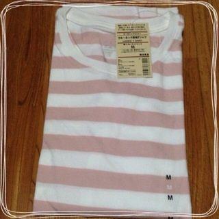 ... 無印のボーダーTシャツ。 image