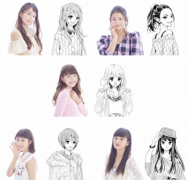 【美的】綾瀬はるかに続くニューヒロイン・美少女5人組「821」初公開&来年2月デビュー 『りぼん』連載漫画とリンク