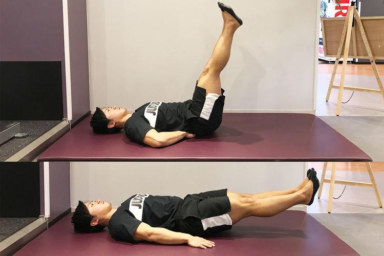 【腹筋 下部】より引き締まった腹筋は、腹筋下部を!