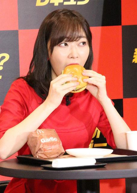 【画像あり】指原莉乃、マクドナルド新CM出演決定 ダイエット中でもハンバーガー3個バクバク!