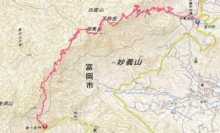 妙義山ルート