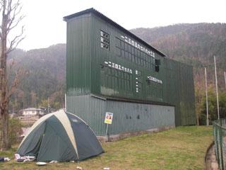 球場キャンプ