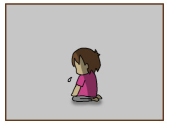 [漫画]ダンナ様は安月給-笑顔