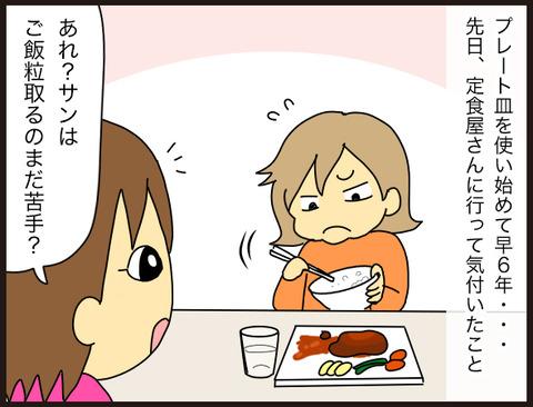 子供へのワンプレート皿使用の落とし穴2