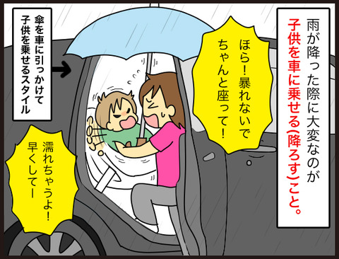 【もっと早く知りたかった!】雨×子×車に使える便利グッズ2