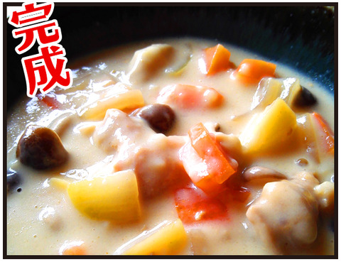 カボチャの煮汁5