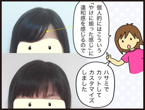 【髪】薄毛に部分ウィッグという選択11