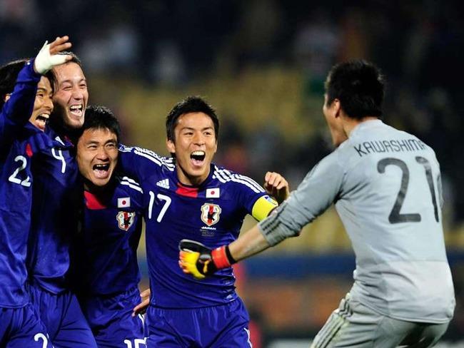 サッカー_日本代表勝利