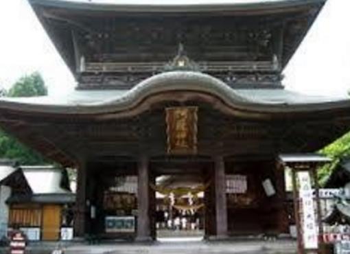 阿蘇にある神社
