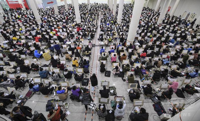 悲報】中国の美大入学試験、もは...