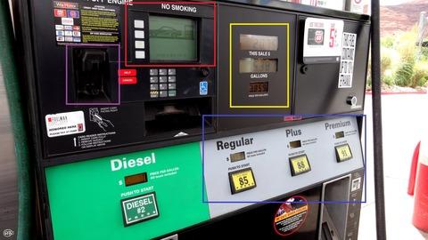 アメリカのガソリン事情