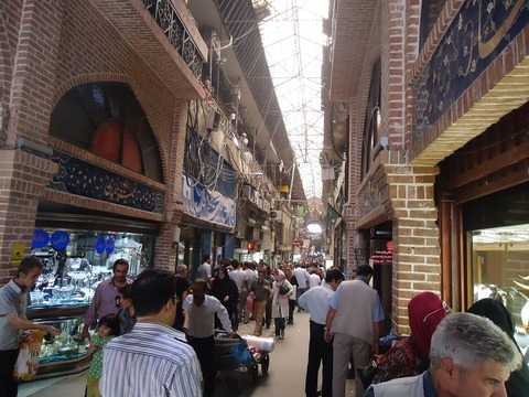 イランの首都テヘラン