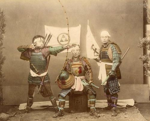 1800年代のサムライ