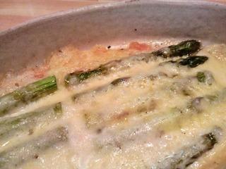 20140426夕食アスパラチーズ