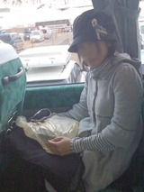 苗場からのバス
