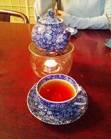 月夜野庭のお茶