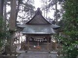 唐松神社本殿