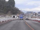 被災した陸前山田の光景1