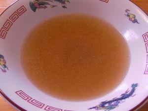 佐野ラーメン叶屋のラーメンを食べ終わったスープ