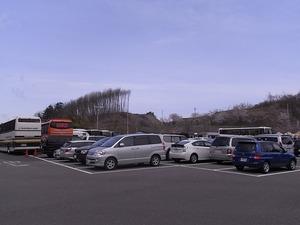 三春滝桜駐車場