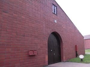 ニッカウヰスキー宮城峡蒸留所貯蔵庫外観