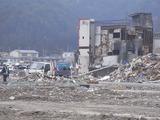 被災した陸前山田の光景5